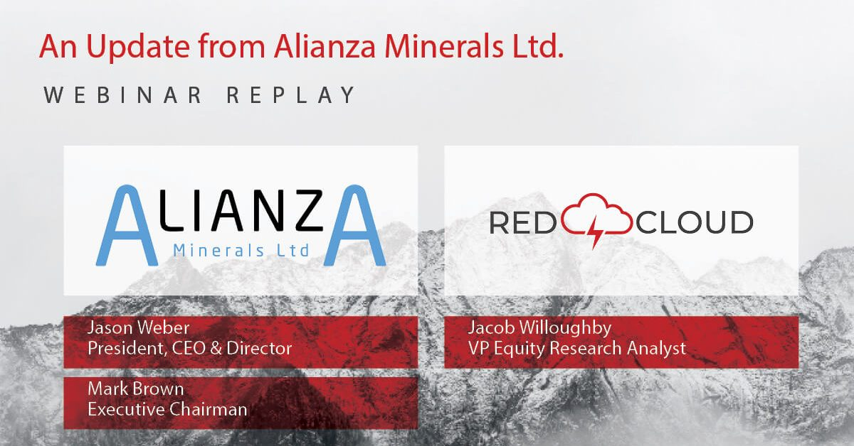 Alianza Minerals webinar replay graphic SEPT 22 2020